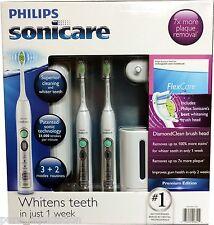 NEW OPEN BOX Philips Sonicare FlexCare Prem Edition HX6962/70 -2 Pk Combo $228