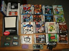 Game Boy Micro Advance Lot: 12 Games: Zelda, Metroid, Mario Golf, many complete