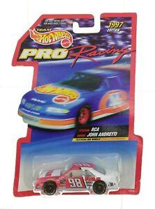 Hot Wheels 1997 Edition 1:64 Die Cast Replica #98 John Andretti RCA