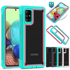 For Samsung Galaxy A51/A71 4G Shockproof Rugged Silicone Bumper Phone Case Cover