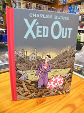 CHARLES BURNS, X'ED OUT, 2010 HARDCOVER 1ST EDITION