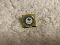 Red Cross ARC Nurse Assistant Pin Pinback Vtg. Collectible, American Red Cross