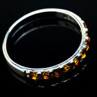 Citrine 925 Sterling Silver Ring Size 11 Ana Co Jewelry R20584