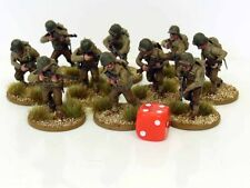 28mm Bolt Action Chain Of Command US Infantry - Painted & Based 10 Figures R2
