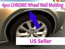 For Cadillac 2002-2019 Models - Set of 4 Chrome Fender Wheel Well Trim Molding