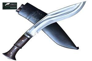"""12"""" Tin Chirra (3 Fuller) Genuine Gurkha Kukri knife from Nepal- Khukri,GK&CO"""