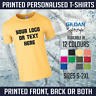 Personalised Custom Printed T Shirts Men Women Stag Hen Tee New Gildan T-Shirt