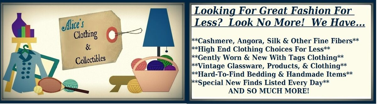 Alice's Clothing & Collectibles