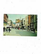 POST CARD COLOUR PHOTO OF HIGH STREET AND BUTTER CROSS WINCHESTER