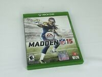 Madden NFL 15 (Microsoft Xbox One, 2014) - No Manual