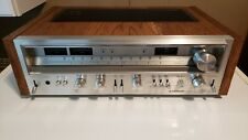 Very Nice Vintage Pioneer SX-780 Stereo Receiver with New Real Oak Cover