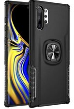 Samsung Galaxy Not 10 Plus Dual Pc Back Case 360 Rotasion Finger Ring Car Mont