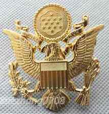 WWII beautiful US ARMY OFFICER CAP EAGLE BADGE INSIGNIA HAT