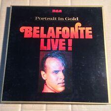 HARRY BELAFONTE - PORTRAIT IN GOLD - LIVE! - 2-LP-BOX - GERMANY 1972