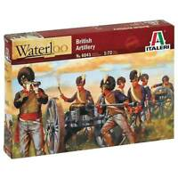 Italeri 1/72 Waterloo British Artillery Napoleon Wars Plastic Model Kit 6041