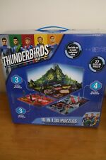 Thunderbirds Are Go 3D Jigsaw Puzzle Set 10 Puzzles In One Box with Carry Handle