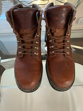 Wolverine Men's W02421 Raider Boot,Brown size 10 pre-own