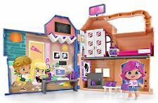 Pinypon By Piny Casa de Estudiantes escenario plegable con asa incluye Michelle