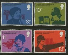 Great Britain   1976   Scott # 777-780    Mint Never Hinged Set