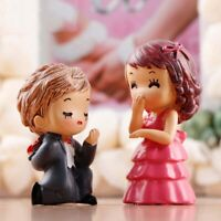 1 *Lovers Couple Good Meet Girl Man Family People Doll Toy Model Statue Figurine