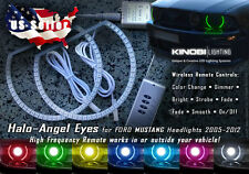 Ford Mustang MultiColor LED Halo-Angel Eyes Rings kit AND RF REMOTE - Buy It!