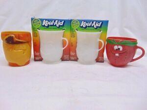 4 - Vintage General Foods & Pillsbury Kool-Aid Cups