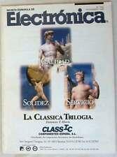 REVISTA ESPAÑOLA DE ELECTRÓNICA - Nº 540 NOVIEMBRE 1999 - 88 PÁGINAS VER SUMARIO