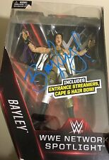 Bayley Signed Wwe Network Spotlight Toy Figure Mattel Autograph
