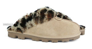 UGG Coquette Leopard Amphora Suede Fur Women's Slippers *All Sizes*