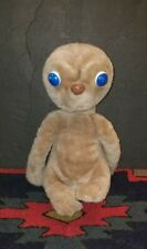 Vintage ET the Extra Terrestrial Plush Doll with Plastic Eyes
