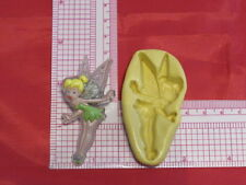 Disney Tinker bell 2D Push Mold Silicone A34 Cake Topper Fondant Resin Clay Wax