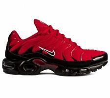$160 NIB NEW Men's Nike Air Max Plus Shoes Torch Red 852630 603