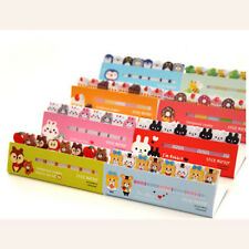120Page Nice Animal Sticker Post It Bookmark Marker Memo Index Tabs Sticky Notes