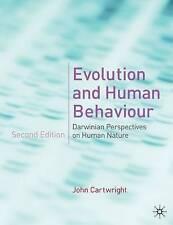 Evolution and Human Behaviour: Darwinian Perspectives on Human Nature, 033398632