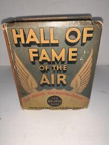 Vintage BIG LITTLE BOOK Hall of Fame of the Air Capt. Eddie Rickenbacker