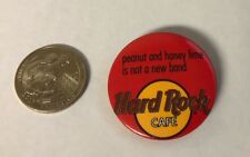 Hard Rock Cafe Peanut And Honey Lime Is Not A Band Pin