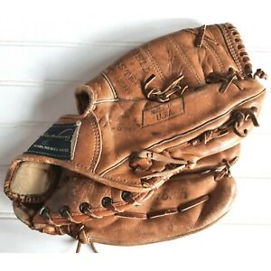 "Ted Williams Field Master Baseball Glove Sears  Roebuck VTG Leather 11.5"" RHT"