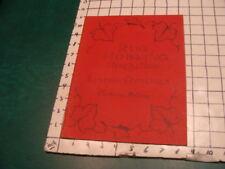 vintage original booklet - 1965 Rug Hooking here's how Catharine M Craig 27pgs