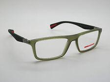 NEW Authentic PRADA SPORT VPS 02F UA1-1O1 Green 54mm Rx Eyeglasses