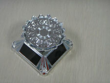 Solar lotus-tray rotating display stand nice showcase for exhibit/jewelery/watch