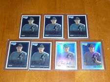 Lot (7) CHAD JENKINS 2010 Bowman Chrome AUTO Autograph 5 Base + 1 Ref AU + 1 Ref