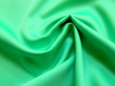 5 Yds-Grass or Light Kelly Green Poly-Silk Look Feather Weight Fabric or Lining