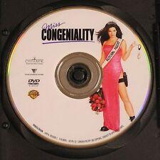 Miss Congeniality (DVD, 2001) Sandra Bullock, Michael Caine, Benjamin Bratt