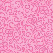 Moda Surrounded by Love Deb Strain Hidden Heart Sweet Pink Fabric Fat Quarter