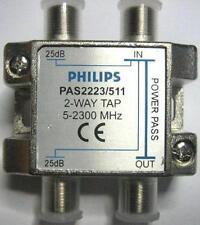 Derivatore Partitore Philips 2 Vie + 1 Passante TV SAT