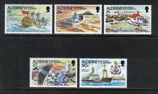 Alderney 1991 Casquets Lighthouse-Attractive Architecture Topical (60-64) Mnh