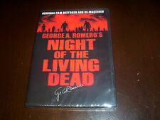 NIGHT OF THE LIVING DEAD 40th Anniversary Original George Romero Horror DVD NEW