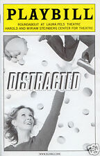 Cynthia Nixon Distracted Playbill MINT!