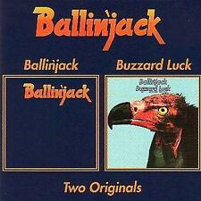 """Ballin 'Jack: """"S/T"""" &"""" Buzzard Luck"""" (2 on 1 CD)"""