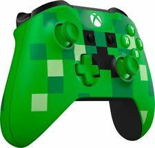 Xbox One Bluetooth Wireless Controller/ Minecraft Creeper WL3-00056  Brown box